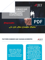 10 Factores Humanos Que Causan Accidentes