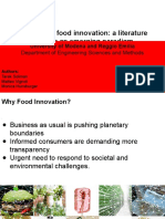 Responsible Food Innovation