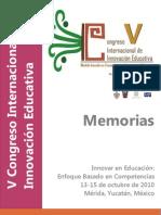 Memorias VCIIE