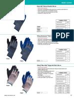 Ficha Tecnica guantes