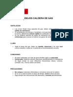 Consejos Calderas de Gas