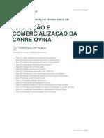 Conteudo Prog Producao e Comercializacao Da Carne Ovina