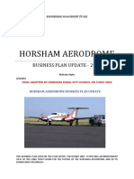 Horsham Rural City Council Aerodrome Business Plan 2010