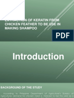 Extraction of Keratin From Chicken Feather as One