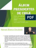 Álbum Presidentes de Chile