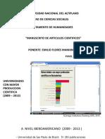 ponencia humanidades