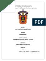 Universidad de Guadalajara Distribuición geométrica