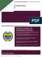 canada and international organizations