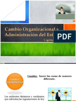 Cambio Organizacional y Administracion Del Estres Capitulo19