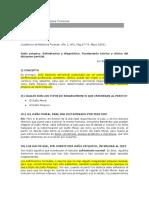 RISSO, R. (2003). Daño psíquico. Delimitación y diagnóstico