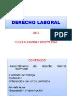 Derecho Laboral Maestria Upb 2015