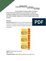 Jabones Pardo Caracterizacion