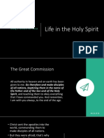 Life in the Holy Spirit