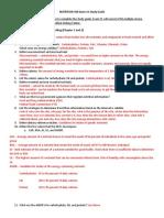 Exam 1 Study Guide for NUTR 100