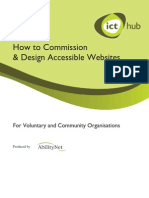 ICT Hub Designing Accessible Websites Guide