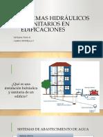 Sistemas Hidráulicos y Sanitarios en Edificaciones
