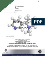 Instructivo de Laboratorio de Química Orgánica 2 Primer Semestre de 2019 Version Revisada y Ampliada