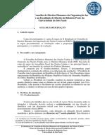 Guia de Regras Prévio - II Simulação do Conselho de Direitos Humanos da Organização das Nações Unidas.docx