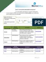 Instructivo Base de Datos Digitales