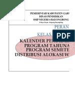 1. Kalender ,VIII K-2013, 2018.19 NEW