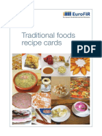Traditional Foods Recipe Cards