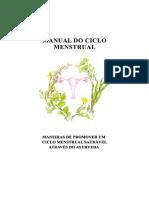 Ciclo menstrual Ayurveda