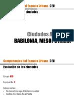 E1-Ciudades Antiguas - 10 - BABILONIA