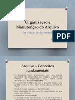 3 - Arquivo, Conceitos Fundamentais