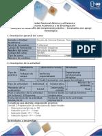 Guía Para El Desarrollo Del Componente Práctico - Etapa 3 - Escenarios Con Apoyo Tecnológico