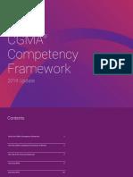 Cgma Competency Framework 2019 Edition