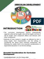 Phase of Curriculum Development