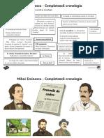 Informatii - cronologie - M.Eminescu