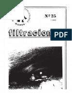 Sistema de la Llana. Filtraciones 25.