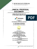 Teknikal Proposal Tangki Sambu T-32 Lengkap