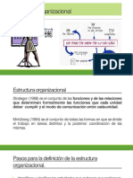 3.1 Estructura Organizacional