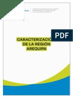 Caracterización de La Región Arequipa 2018 Sineace