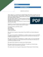 Ejercicio Agencia, Matriz Sucursal