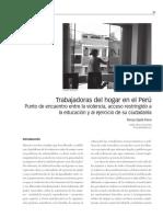 Trabajadoras del hogar en el Perú