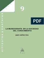 Rico Juan Carlos - Museografia en La Sociedad Del Conocimiento (1)