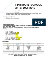2019 sports day document
