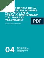 04 La Experiencia de La Felicidad en Jóvenes Peruanos en El Trabajo Remunerado y El Trabajo Voluntario