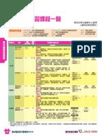 高中應用學習課程一覽(2019-21學年)