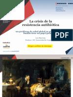 Crisis Resistencia Antibiotica