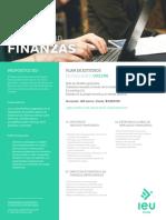 finanzas brochure