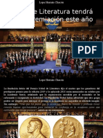 Lope Hernán Chacón - Nobel de Literatura Tendrá Doble Premiación Este Año
