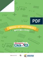 Matriz de Referencia Matematicas