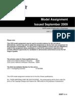 Unit 1 Model Assignment