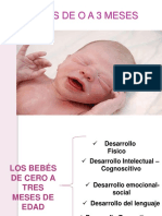 desarrollo niño 0 a 3 meses