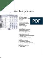Placer Del Arte R. de Fusco / Comprender la Arquitectura