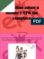 Alexandra Azpúrua - Las Niñas Aman a Minnie y EPK Las Complace